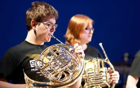 Student musicians Olson and Crist excel