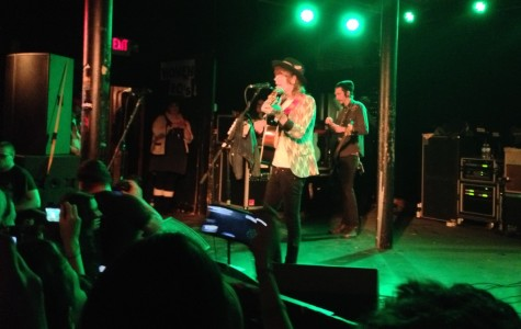 Christofer Drew of Never Shout Never plays at Station 4 in St. Paul on Black Friday.