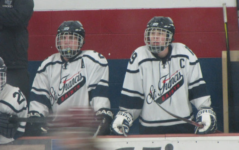 Varsity captains shred ice: a look at two dedicated seniors