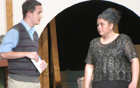 Student finds place in theatre