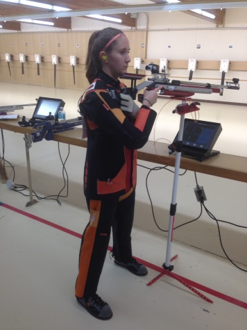 Abby West shoots for the stars and Olympics