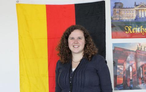 Frau Nickel returns to the U.S. to teach German