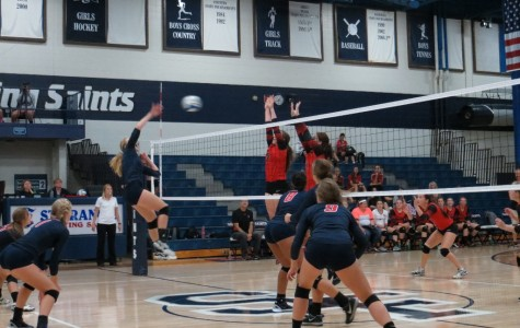 Varsity volleyball works through turbulent times
