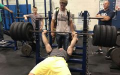 Senior shatters bench record