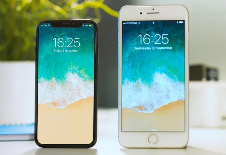 iPhone+X+-+Left%0AiPhone+8+-+Right