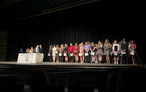 NHS Inducts New Members For 2018