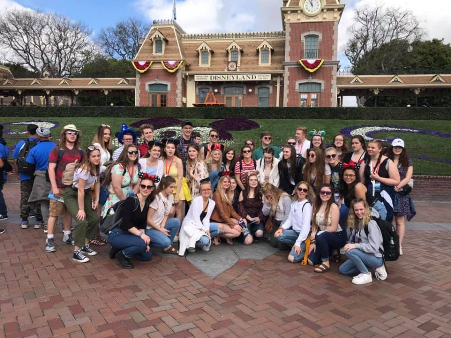 Choir Students on Spring Break - March 2019