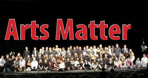 Arts Matter: Fine Arts students rally to bring awareness