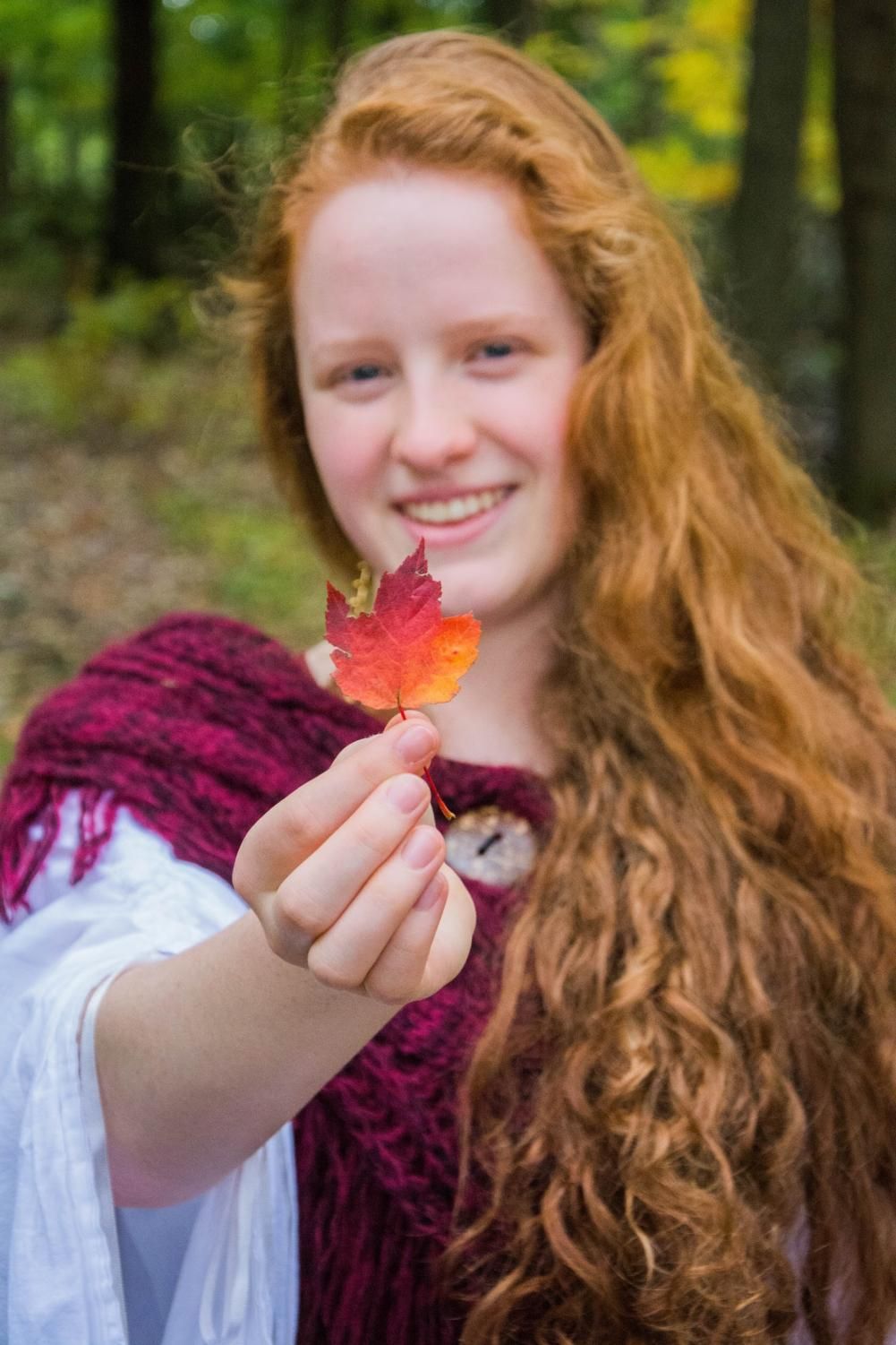 Senior Ruby Schroeder is a playwright, actor, scientist and climate activist.