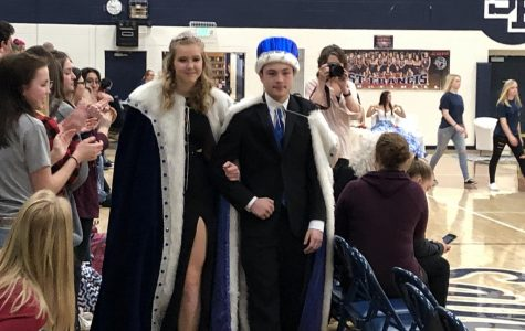 Snow week Queen and King Crowned after school delays