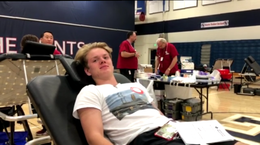 National+Honor+Society+hosts+annual+blood+drive