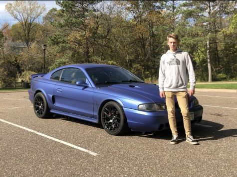 Easton Oggs 1996 Mustang Cobra