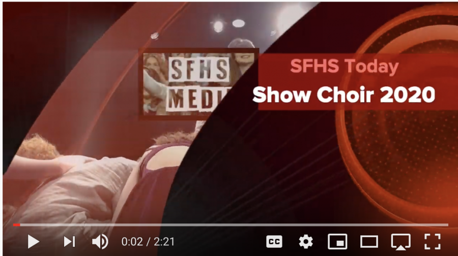 Reporter Jake Ferguson took on a b-roll challenge to document the SFHS Bridge Street Singers and Prima Voce Show Choirs.