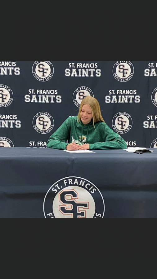 Annika Fingal signed this Fall to play D2 Soccer with Bemidji State.
