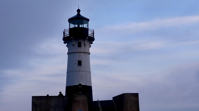 The Duluth North Harbor Lighthouse is a great landmark destination for a day trip up North.