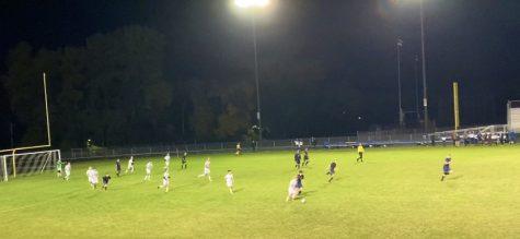 Senior Night for Boys Soccer
