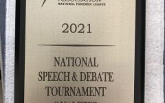 Navigation to Story: Debate team sends senior to Nationals